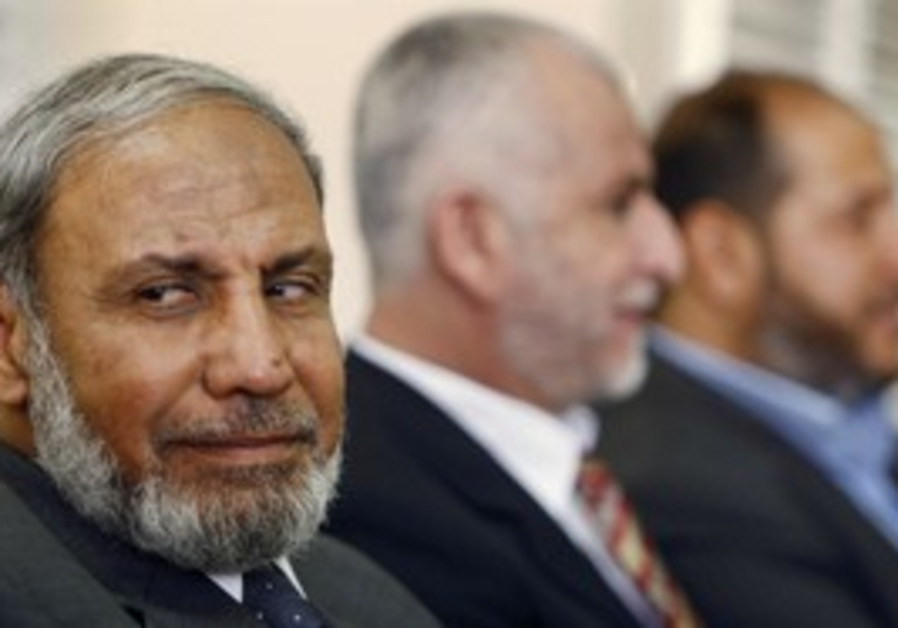 Hamas official Mahmoud al-Zahar