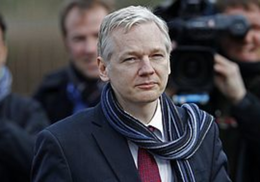 WikiLeaks founder Julian Assange [file]
