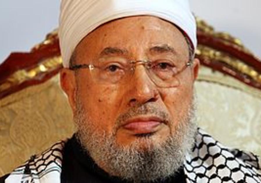 Sheikh Yusuf Qaradawi of the Muslim Brotherhood