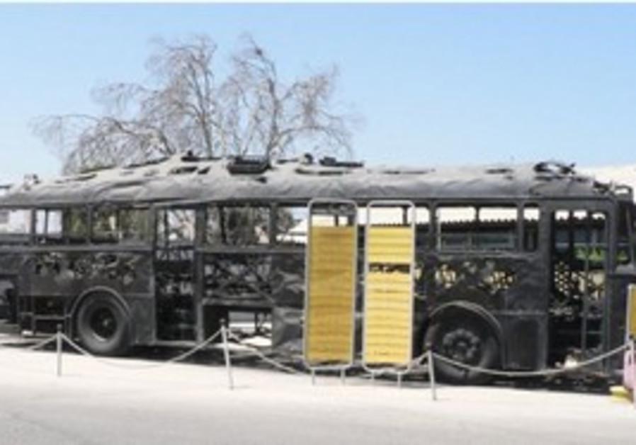 Coastal Road Massacre Bus