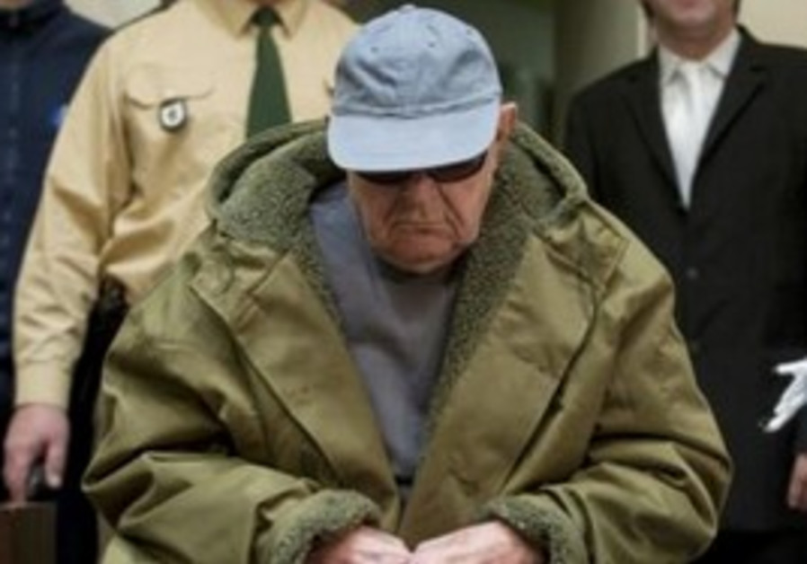 Accused Nazi death camp guard John Demjanjuk