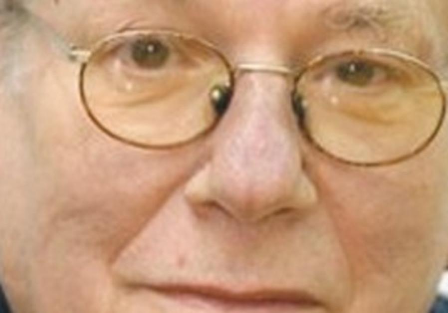 Author Yoram Kaniuk.