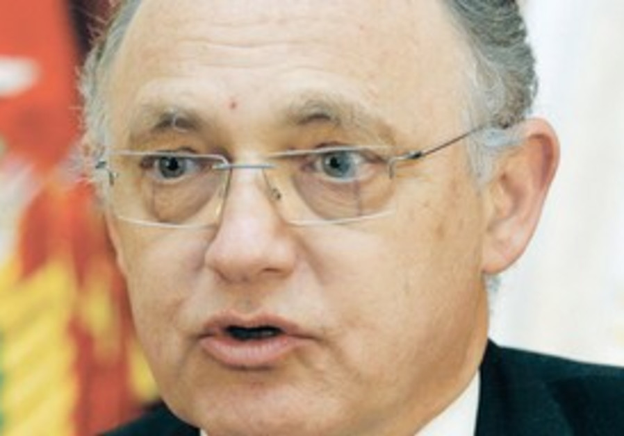 Argentinian FM Hector Timerman