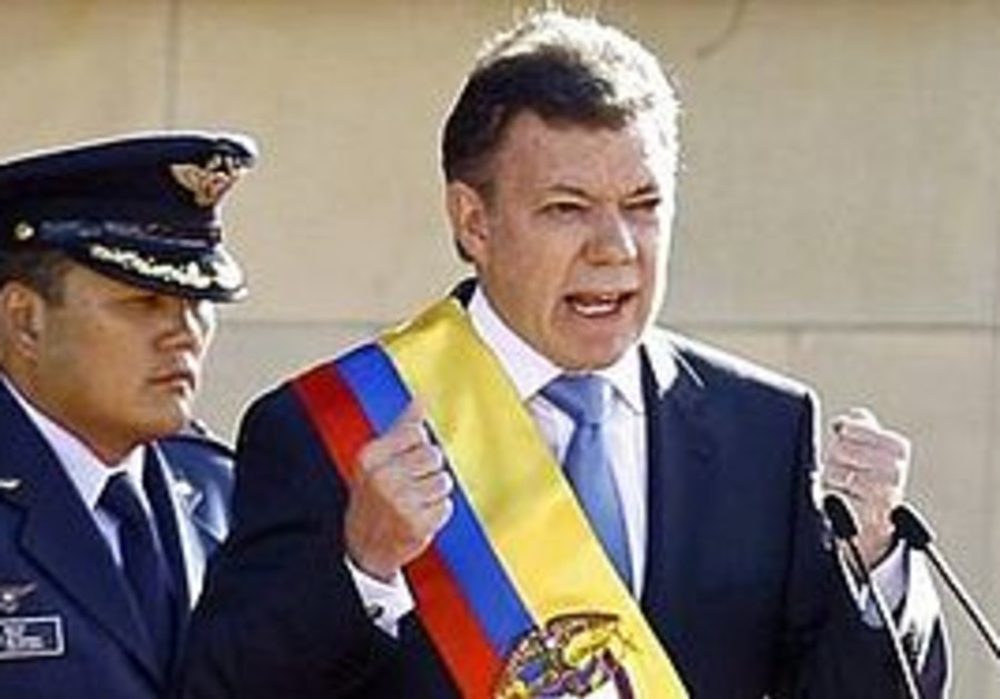 Colombian President Juan Manuel Santos Calderón