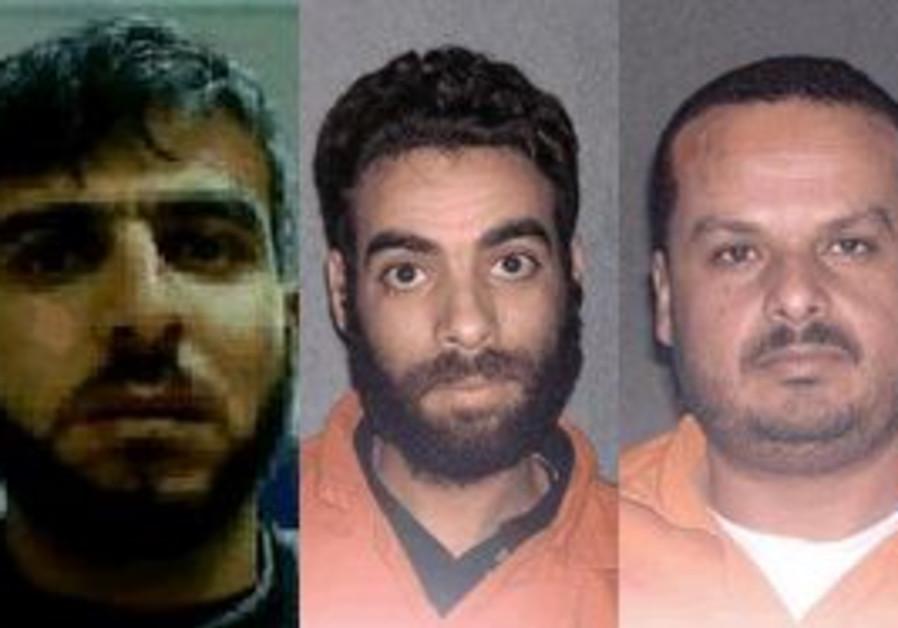 3 Hamas terrorists nabbed by the Shin Bet.