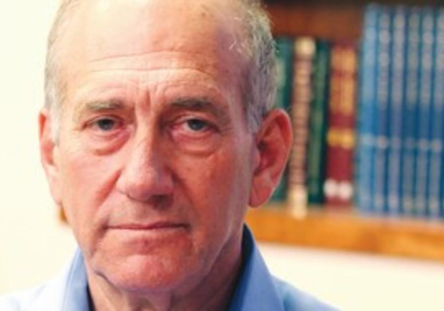 Former prime minister Ehud Olmert.