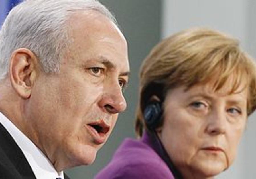 Netanyahu Merkel