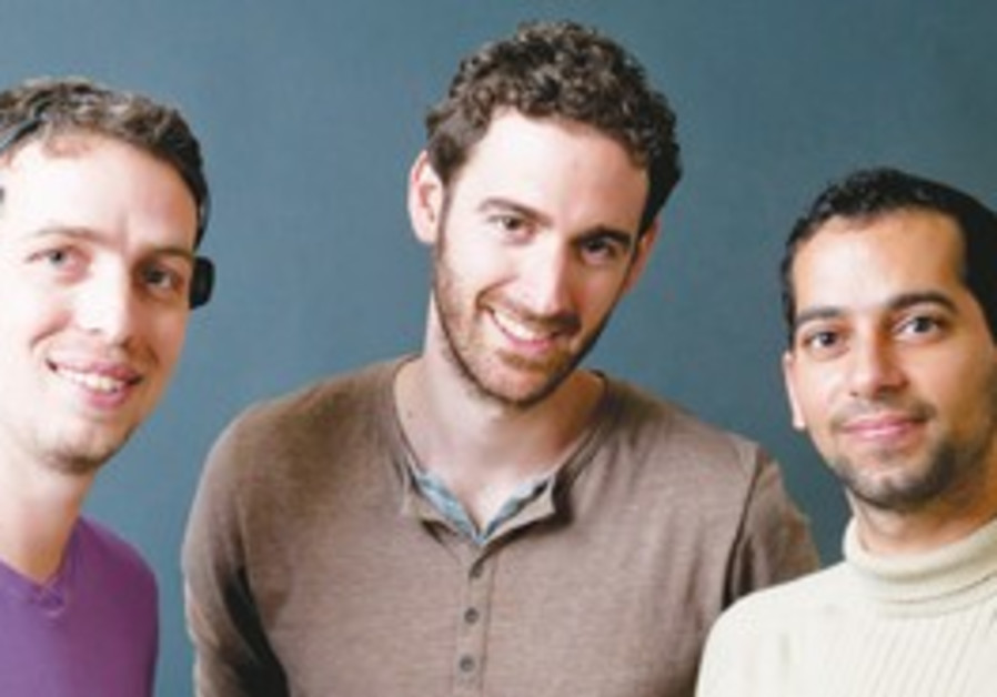 Creators Ori Ossmy, Ariel Rozen and Ofir Tam.