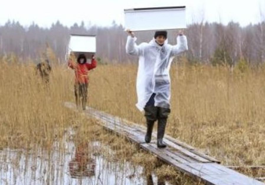 "Workers from ""APB BirdLife Belarus"""