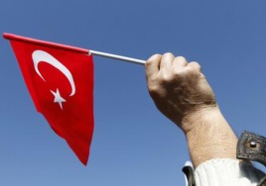 Turkish flag [illustrative]