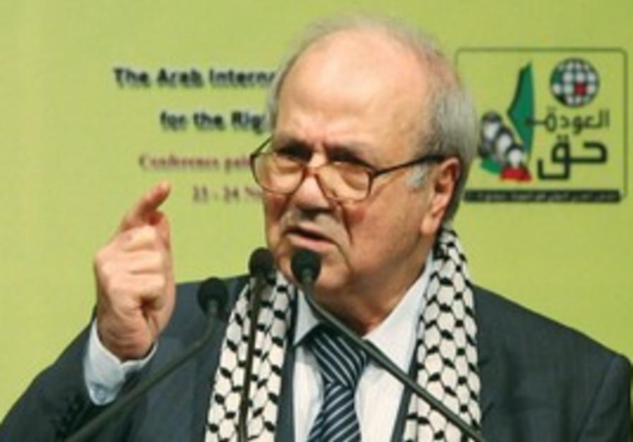 PLO leader Farouk Kaddoumi