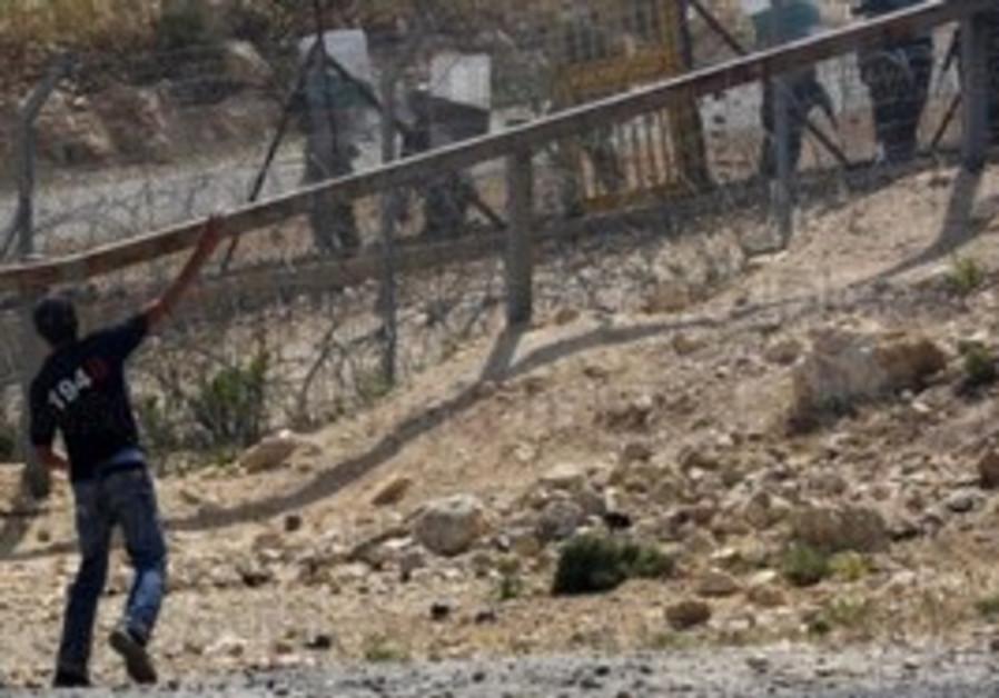 Demonstration at Bil'in