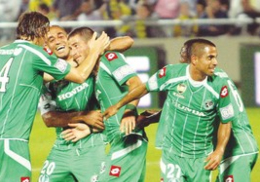 Maccabi Haifa goes to the State Cup semifinal.