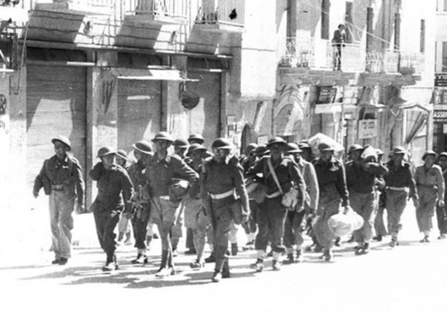 Jewish soldiers in Jerusalem 1948