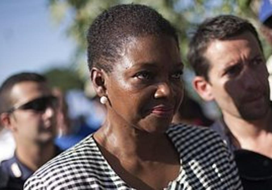 Senior UN official Valerie Amos