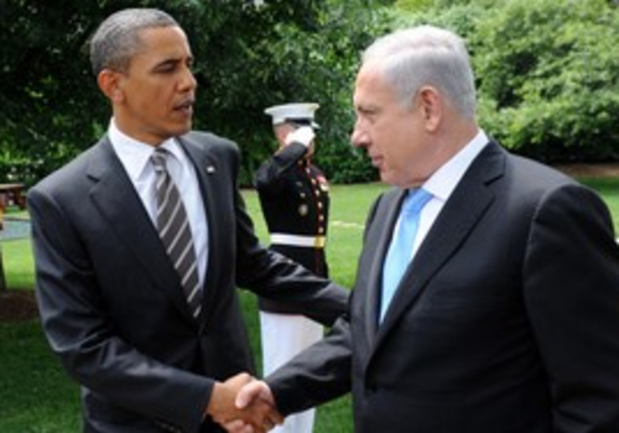 PM Netanyahu, US President Obama at White House