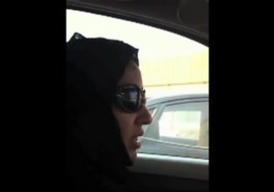 Saudi Woman post video of herself driving