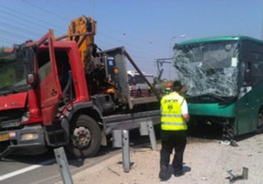 Bus crash [file].