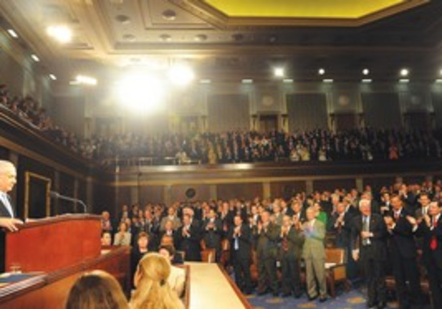 Netanyahu receives applause from US Congress