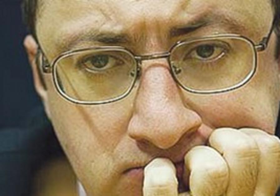 Israeli grandmaster Boris Gelfand