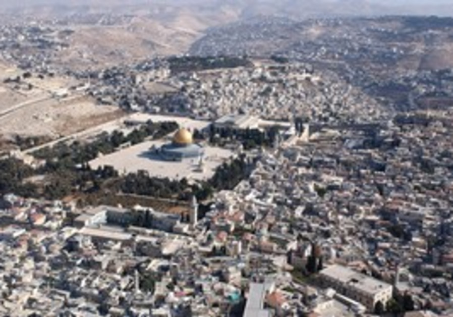 MOUNT MORIAH achieved its holiness with Abraham