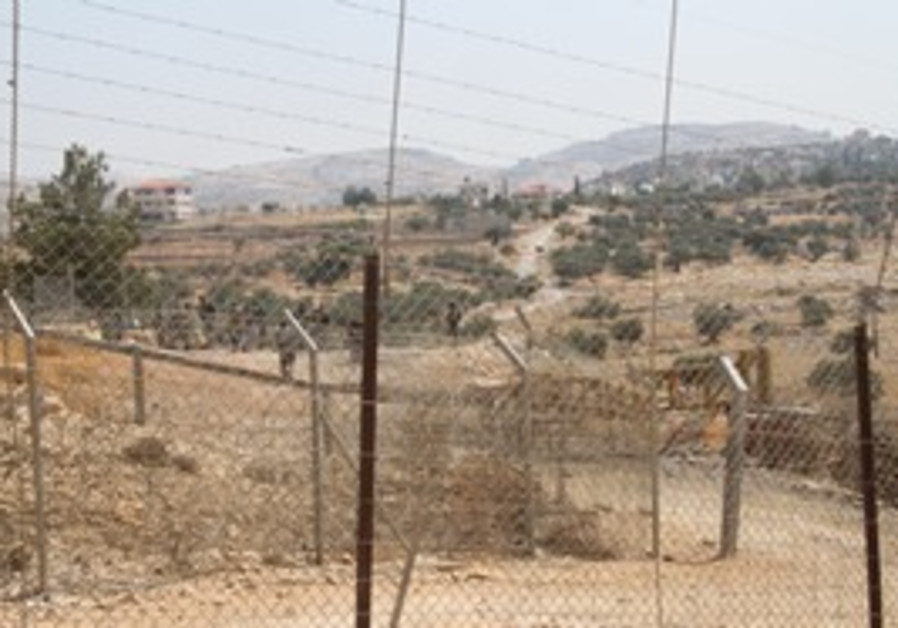 Site of Bilin protests against security barrier