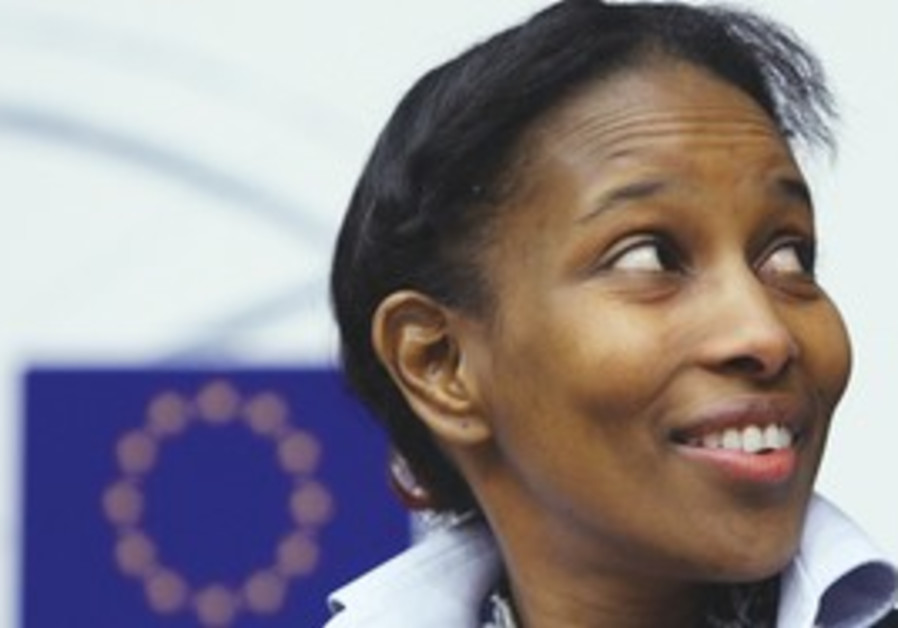 SOMALI-BORN former Dutch MP Ayaan Hirsi Ali
