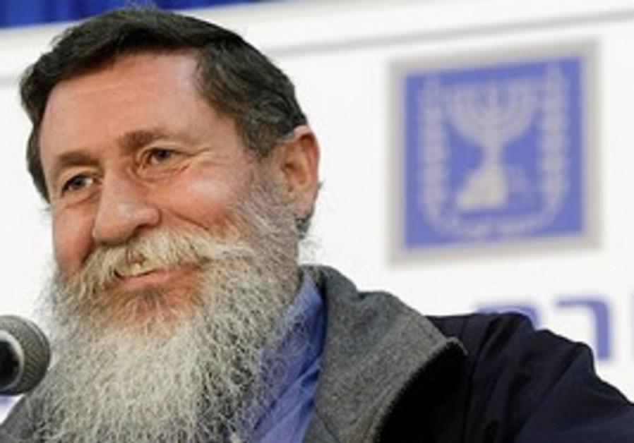 National Union MK Yaakov Katz