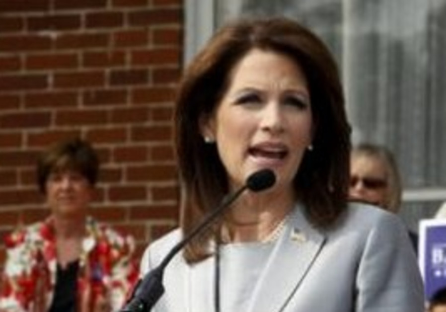 US Rep. presidential candidate Michele Bachmann
