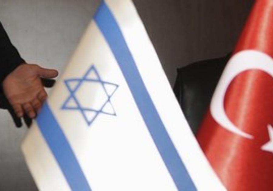 Israeli and Turkish flags [illustrative]