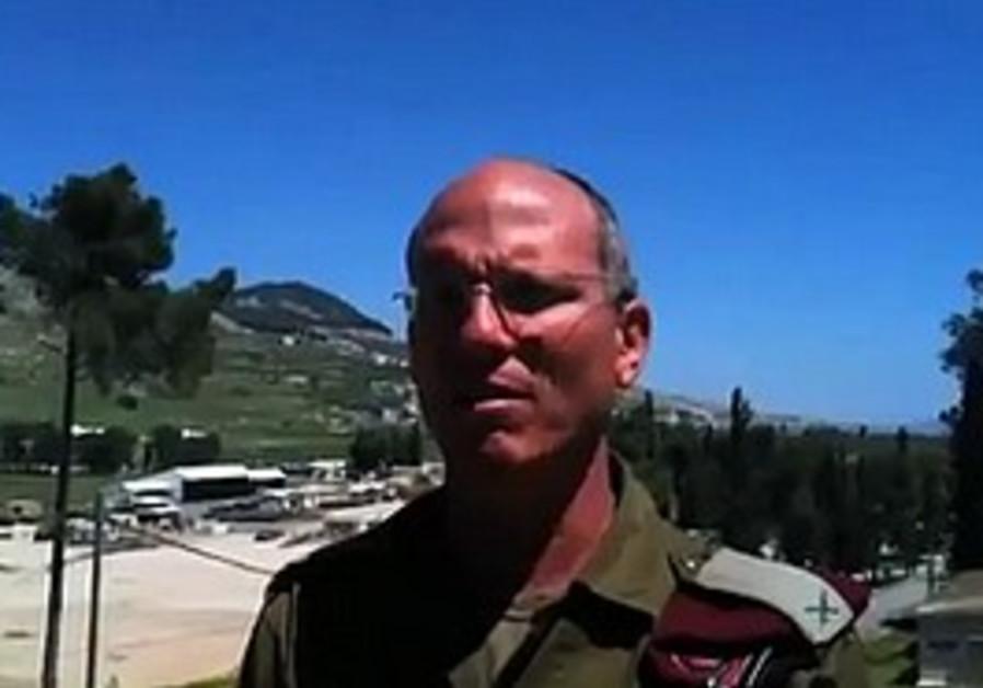 IDF Brig.- Gen. Nitzan Alon