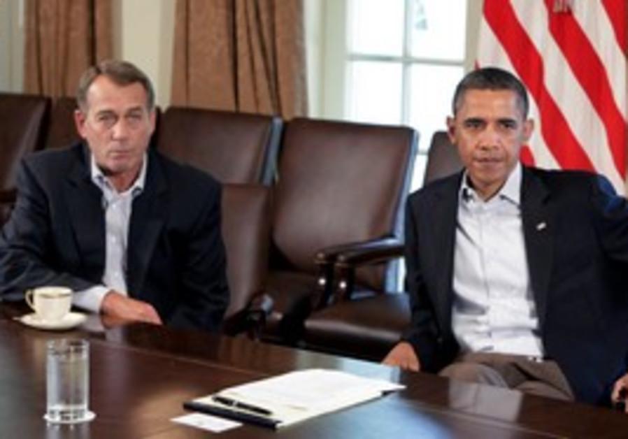 Obama and Boehner meet to discuss US debt crisis