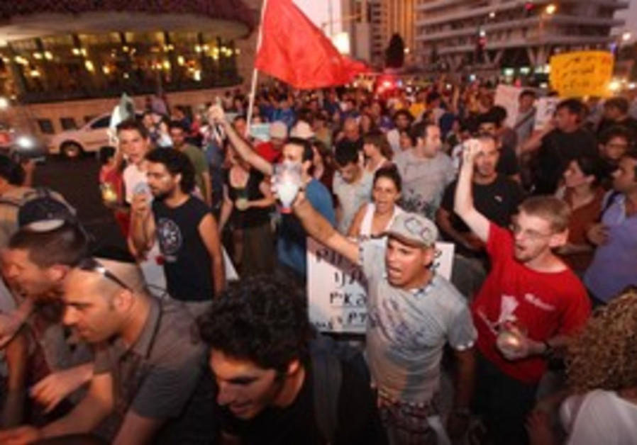 Housing protest in Jerusalem