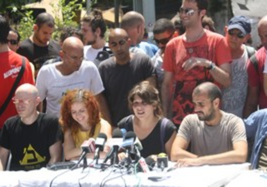 Tent City press conference