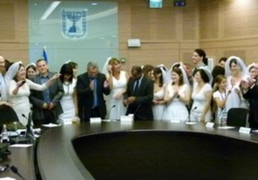 Horowitz Knesset Marriage party