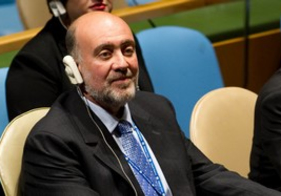 Ambassador to the United Nations Ron Prosor [file]