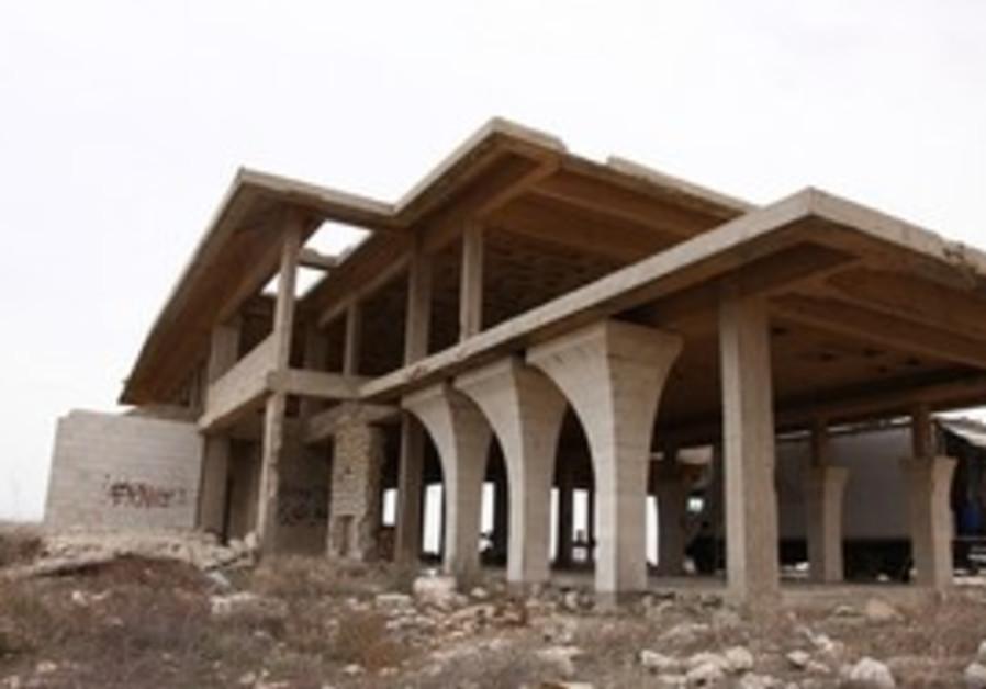 King Hussein's partially built summer villa