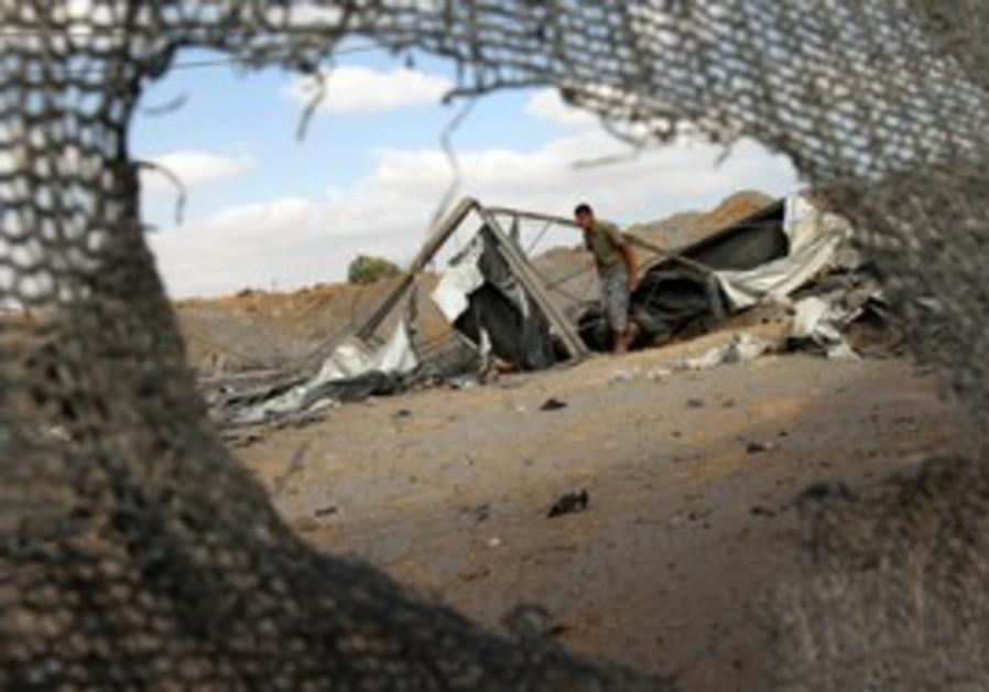 Gaza Tunnel Destroyed [file]