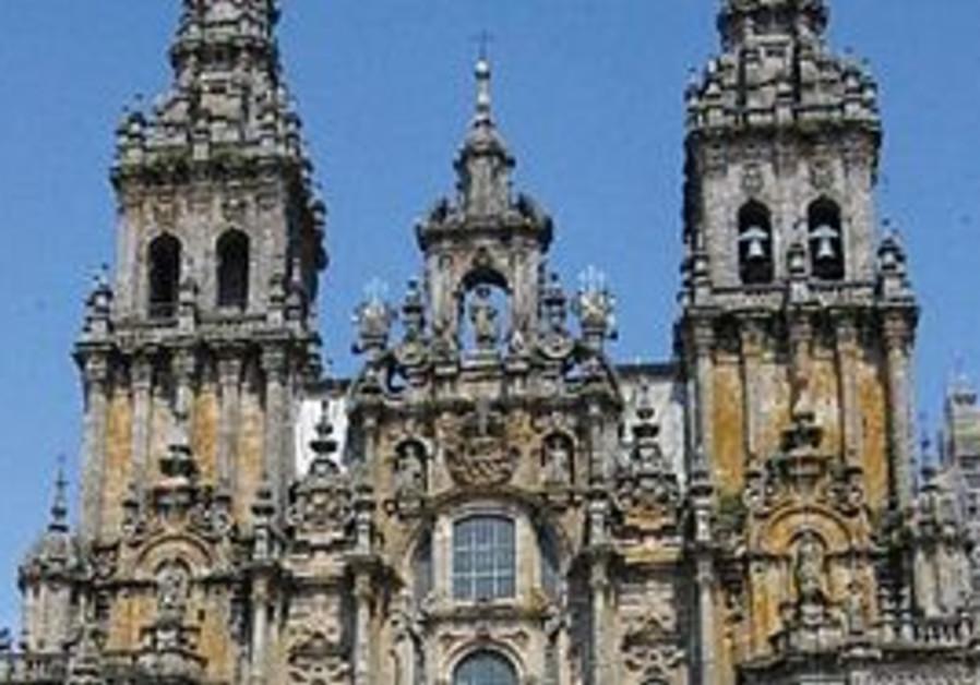 THE SANTIAGO Cathedral in Santiago de Compostela