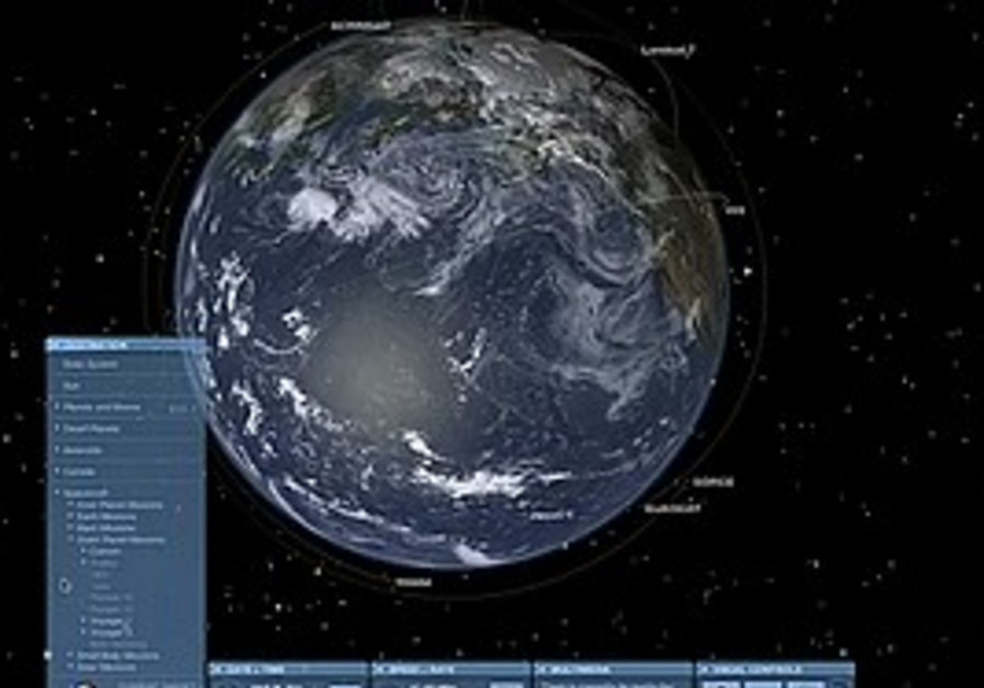 NASA's 'Eyes on the Solar System' Web app