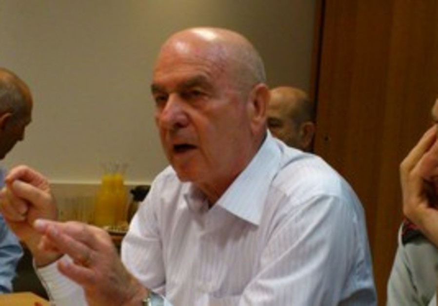 Home Front Defense Minister Matan Vilnai