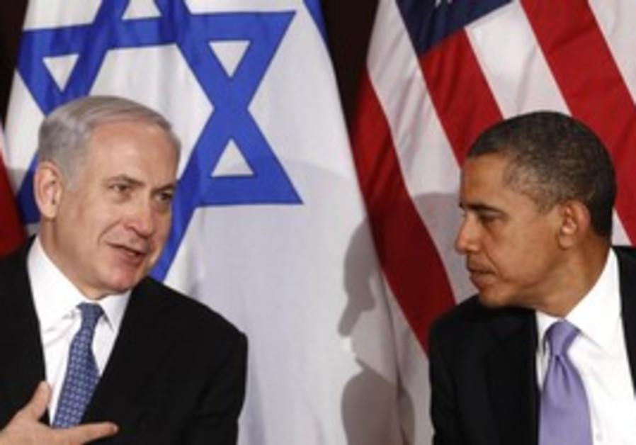 Netanyahu and Obama in New York