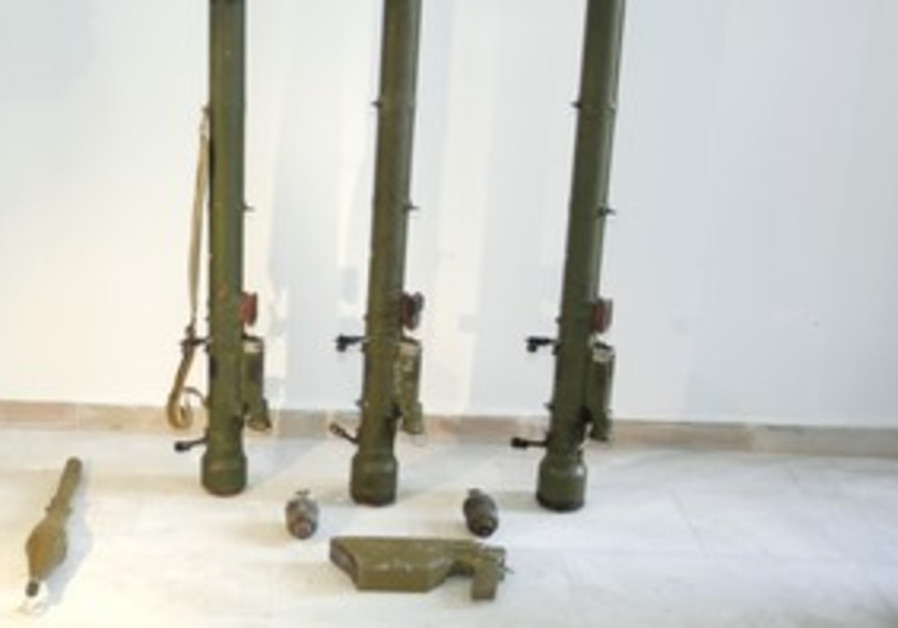 Shoulder fired anti-aircraft missiles [file]