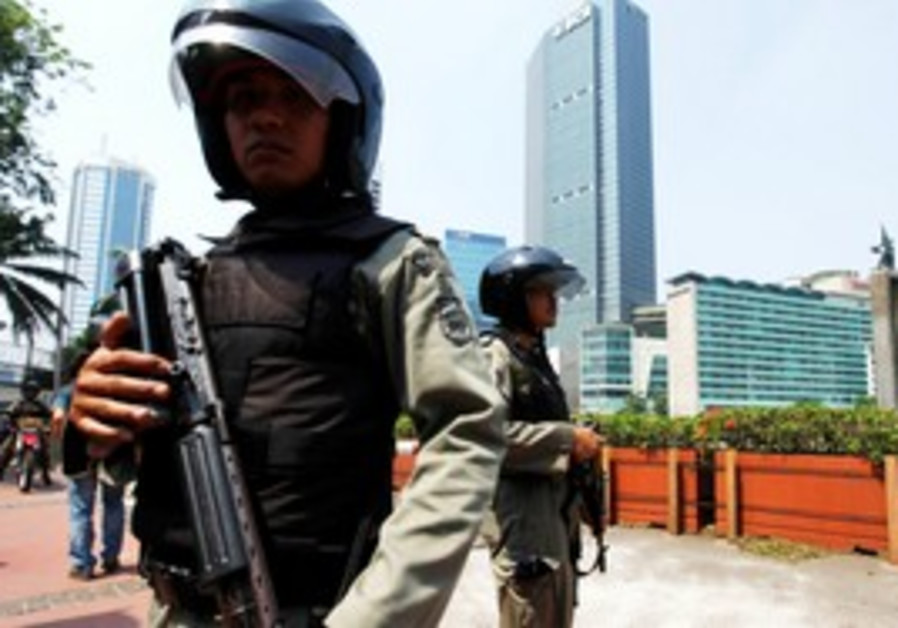 Indonesia anti-terror police