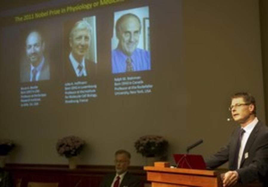 Announcment of Nobel medicine laureates