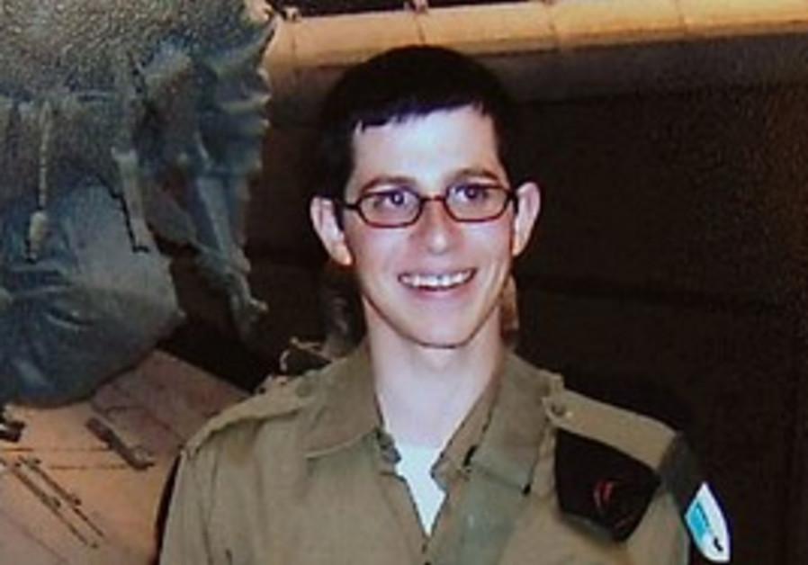 Gilad Schalit in uniform, before he was captured