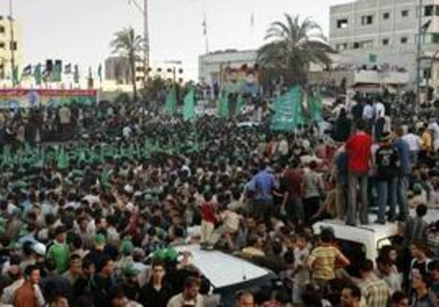 A Hamas parade in Gaza City [file]