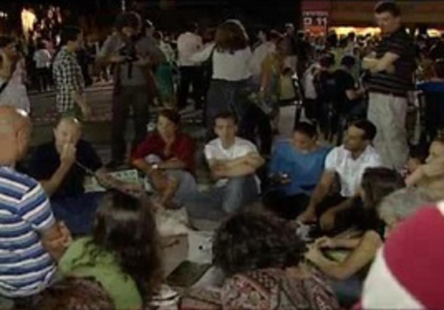 'October 15' protest in Tel Aviv