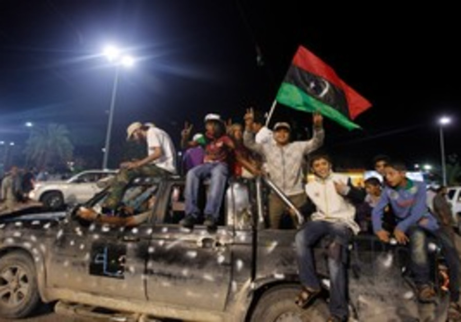 Libyans celebrate death of Gaddafi 311