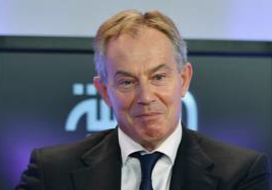 Quartet Mideast envoy Tony Blair [file]